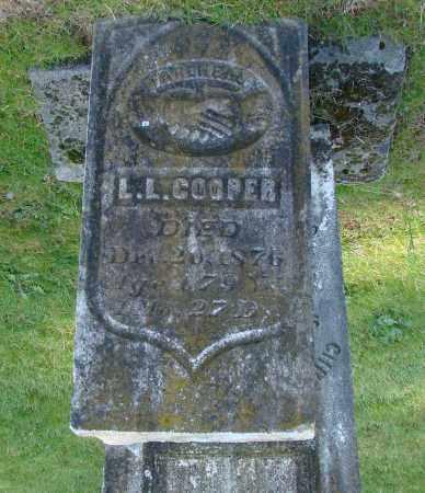 COOPER, LEWIS LINDSAY - Polk County, Oregon | LEWIS LINDSAY COOPER - Oregon Gravestone Photos
