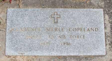 COPELAND, CLARENCE MERLE - Polk County, Oregon | CLARENCE MERLE COPELAND - Oregon Gravestone Photos