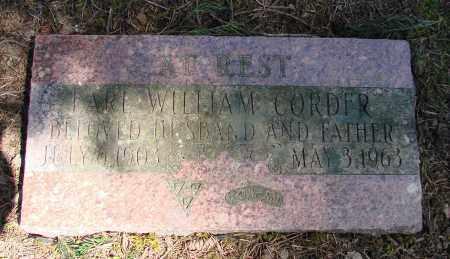 CORDER, EARL WILLIAM - Polk County, Oregon | EARL WILLIAM CORDER - Oregon Gravestone Photos