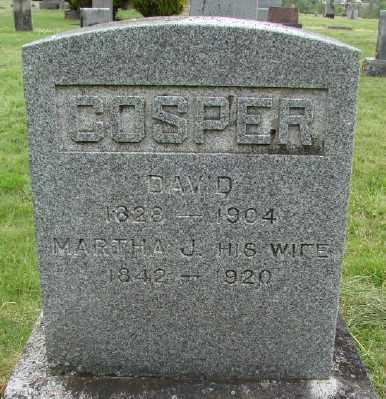 COSPER, MARTHA J - Polk County, Oregon | MARTHA J COSPER - Oregon Gravestone Photos