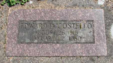 COSTELLO, EDWARD D - Polk County, Oregon   EDWARD D COSTELLO - Oregon Gravestone Photos