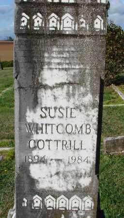 WHITCOMB COTTRILL, SUSIE ANN - Polk County, Oregon | SUSIE ANN WHITCOMB COTTRILL - Oregon Gravestone Photos
