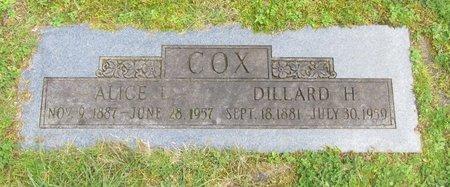 COX, DILLARD HEATH - Polk County, Oregon | DILLARD HEATH COX - Oregon Gravestone Photos