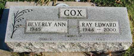 COX, RAY EDWARD - Polk County, Oregon   RAY EDWARD COX - Oregon Gravestone Photos