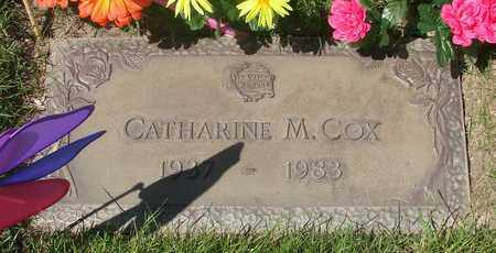 COX, CATHARINE MAE - Polk County, Oregon   CATHARINE MAE COX - Oregon Gravestone Photos