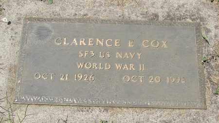 COX, CLARENCE EDWARD - Polk County, Oregon   CLARENCE EDWARD COX - Oregon Gravestone Photos