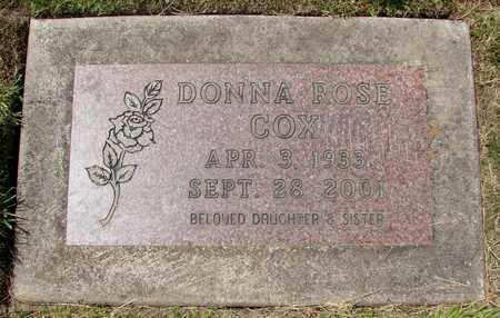 COX, DONNA ROSE - Polk County, Oregon   DONNA ROSE COX - Oregon Gravestone Photos