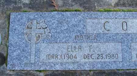COX, ELLA F - Polk County, Oregon | ELLA F COX - Oregon Gravestone Photos