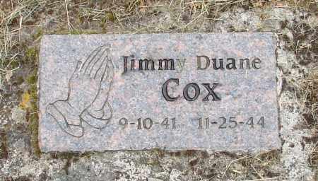 COX, JIMMY DUANE - Polk County, Oregon   JIMMY DUANE COX - Oregon Gravestone Photos