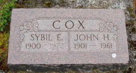 COX, JOHN H - Polk County, Oregon | JOHN H COX - Oregon Gravestone Photos