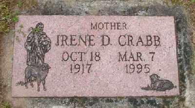 CRABB, IRENE D - Polk County, Oregon | IRENE D CRABB - Oregon Gravestone Photos