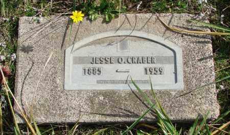 CRABER, JESSE O - Polk County, Oregon   JESSE O CRABER - Oregon Gravestone Photos