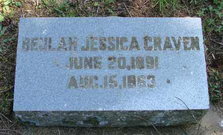 HESS CRAVEN, BEULAH JESSICA - Polk County, Oregon | BEULAH JESSICA HESS CRAVEN - Oregon Gravestone Photos
