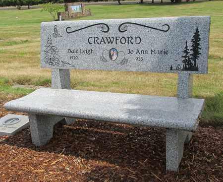 CRAWFORD, DALE LEIGH - Polk County, Oregon | DALE LEIGH CRAWFORD - Oregon Gravestone Photos