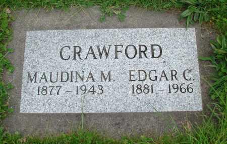 CRAWFORD, EDGAR C - Polk County, Oregon | EDGAR C CRAWFORD - Oregon Gravestone Photos