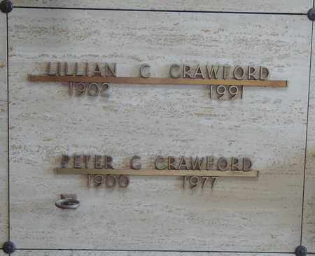 CRAWFORD, LILLIAN C - Polk County, Oregon | LILLIAN C CRAWFORD - Oregon Gravestone Photos