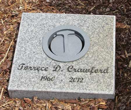 CRAWFORD, TORRECE D - Polk County, Oregon | TORRECE D CRAWFORD - Oregon Gravestone Photos