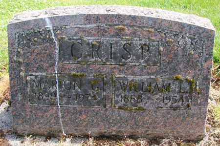 CRISP, MARION G - Polk County, Oregon | MARION G CRISP - Oregon Gravestone Photos