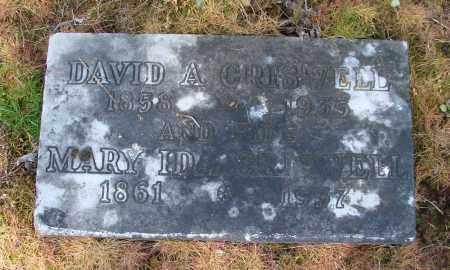 CRISWELL, DAVID A - Polk County, Oregon | DAVID A CRISWELL - Oregon Gravestone Photos