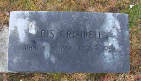 CRISWELL, LOIS - Polk County, Oregon | LOIS CRISWELL - Oregon Gravestone Photos