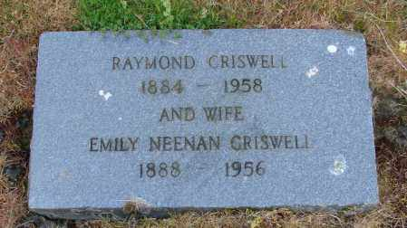 CRISWELL, EMILY - Polk County, Oregon | EMILY CRISWELL - Oregon Gravestone Photos