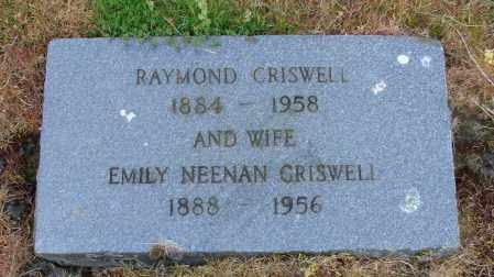 CRISWELL, RAYMOND - Polk County, Oregon | RAYMOND CRISWELL - Oregon Gravestone Photos