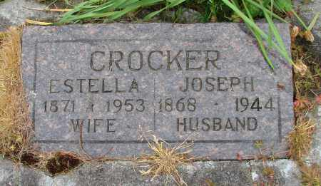 CROCKER, ESTELLA - Polk County, Oregon | ESTELLA CROCKER - Oregon Gravestone Photos
