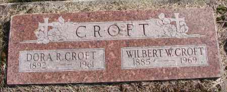 REEVES CROFT, DORA ELIZA - Polk County, Oregon | DORA ELIZA REEVES CROFT - Oregon Gravestone Photos