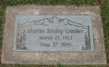 CROOKER, MARTIN SMILEY - Polk County, Oregon   MARTIN SMILEY CROOKER - Oregon Gravestone Photos