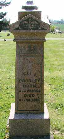 CROSLEY, ELI S - Polk County, Oregon | ELI S CROSLEY - Oregon Gravestone Photos