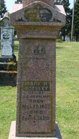 CROSLEY, MARY H - Polk County, Oregon | MARY H CROSLEY - Oregon Gravestone Photos