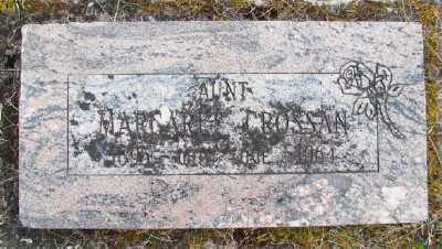 CROSSAN, MARGARET - Polk County, Oregon | MARGARET CROSSAN - Oregon Gravestone Photos