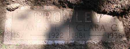 CROWLEY, JAMES T - Polk County, Oregon | JAMES T CROWLEY - Oregon Gravestone Photos