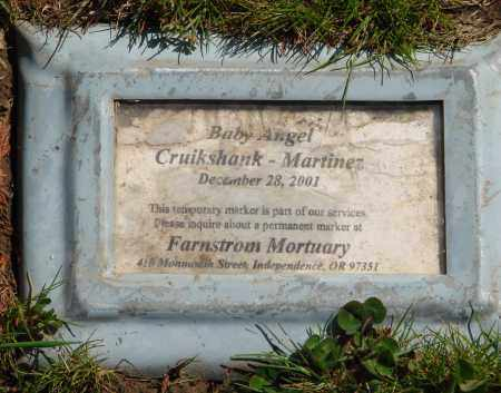 CRUIKSHANK-MARTINEZ, BABY ANGEL - Polk County, Oregon   BABY ANGEL CRUIKSHANK-MARTINEZ - Oregon Gravestone Photos