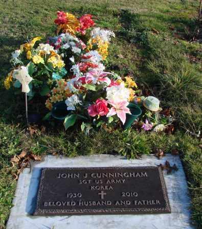 CUNNINGHAM, JOHN J - Polk County, Oregon   JOHN J CUNNINGHAM - Oregon Gravestone Photos