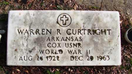 CURTRIGHT (WWII), WARREN R - Polk County, Oregon   WARREN R CURTRIGHT (WWII) - Oregon Gravestone Photos