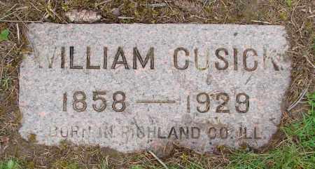 CUSICK, WILLIAM - Polk County, Oregon | WILLIAM CUSICK - Oregon Gravestone Photos