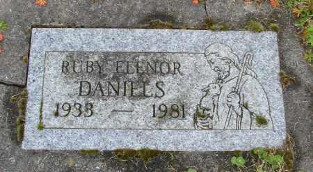 DANIELS, RUBY ELENOR - Polk County, Oregon | RUBY ELENOR DANIELS - Oregon Gravestone Photos