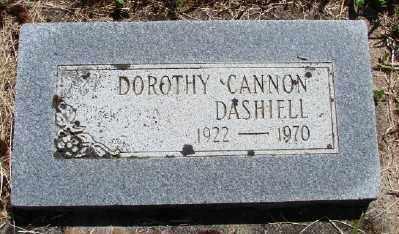 CANNON DASHIELL, DOROTHY - Polk County, Oregon   DOROTHY CANNON DASHIELL - Oregon Gravestone Photos