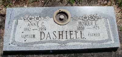 DASHIELL, HOMER EDGAR - Polk County, Oregon   HOMER EDGAR DASHIELL - Oregon Gravestone Photos