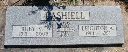 DASHIELL, RUBY V - Polk County, Oregon | RUBY V DASHIELL - Oregon Gravestone Photos