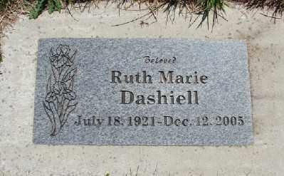 DASHIELL, RUTH MARIE - Polk County, Oregon   RUTH MARIE DASHIELL - Oregon Gravestone Photos