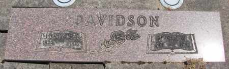 DAVIDSON, MERLE W - Polk County, Oregon   MERLE W DAVIDSON - Oregon Gravestone Photos