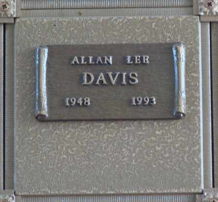 DAVIS, ALLAN LEE - Polk County, Oregon | ALLAN LEE DAVIS - Oregon Gravestone Photos