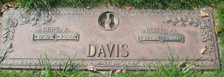 DAVIS, RUTH A - Polk County, Oregon | RUTH A DAVIS - Oregon Gravestone Photos