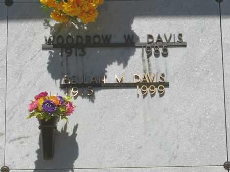 DAVIS, WOODROW WILSON - Polk County, Oregon | WOODROW WILSON DAVIS - Oregon Gravestone Photos