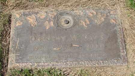 DAVIS, DOROTHY M - Polk County, Oregon | DOROTHY M DAVIS - Oregon Gravestone Photos