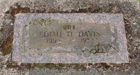 DAVIS, EDITH O - Polk County, Oregon | EDITH O DAVIS - Oregon Gravestone Photos