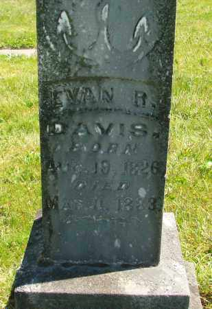 DAVIS, EVAN R - Polk County, Oregon | EVAN R DAVIS - Oregon Gravestone Photos