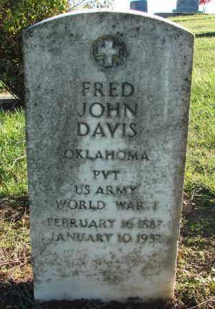 DAVIS, FRED JOHN - Polk County, Oregon | FRED JOHN DAVIS - Oregon Gravestone Photos